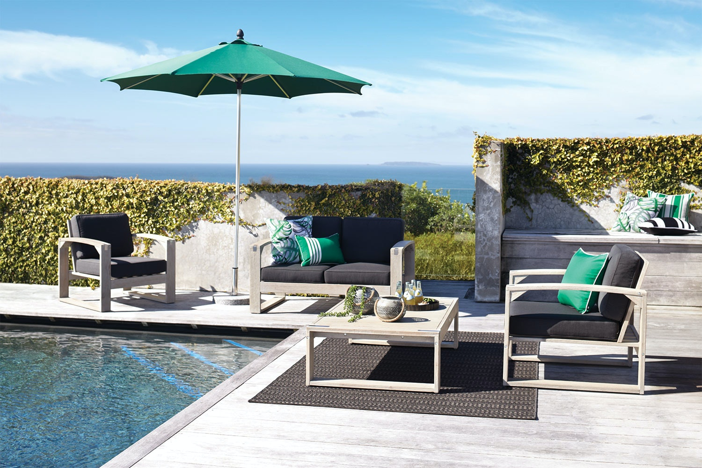 Sangria 4 Piece Outdoor Lounge Setting