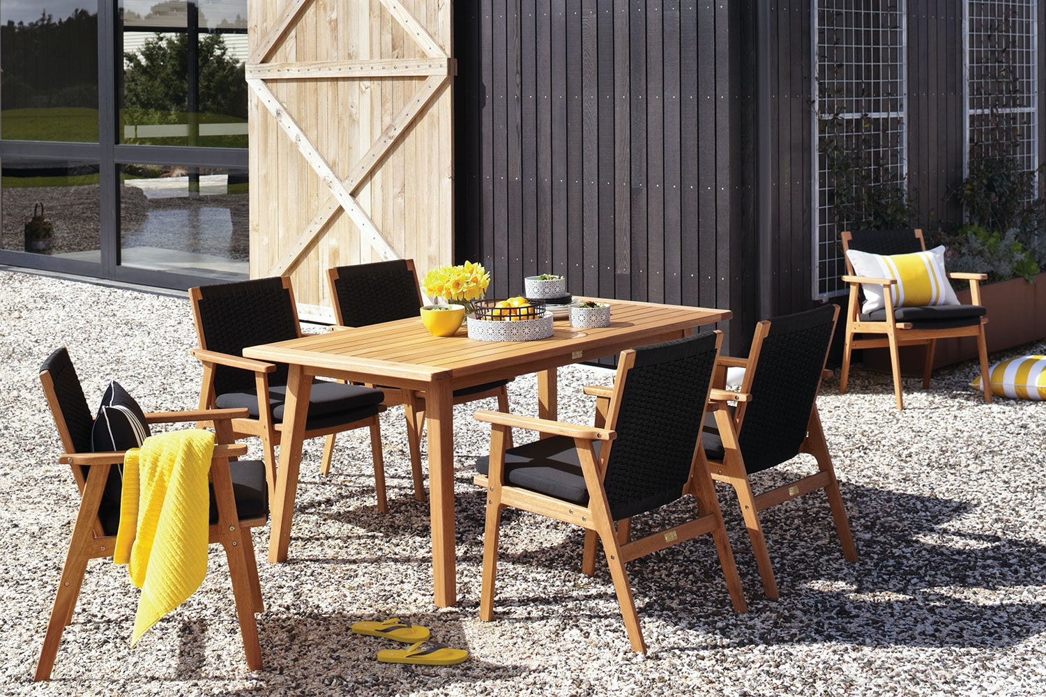 Valley 7 Piece Outdoor Dining Setting