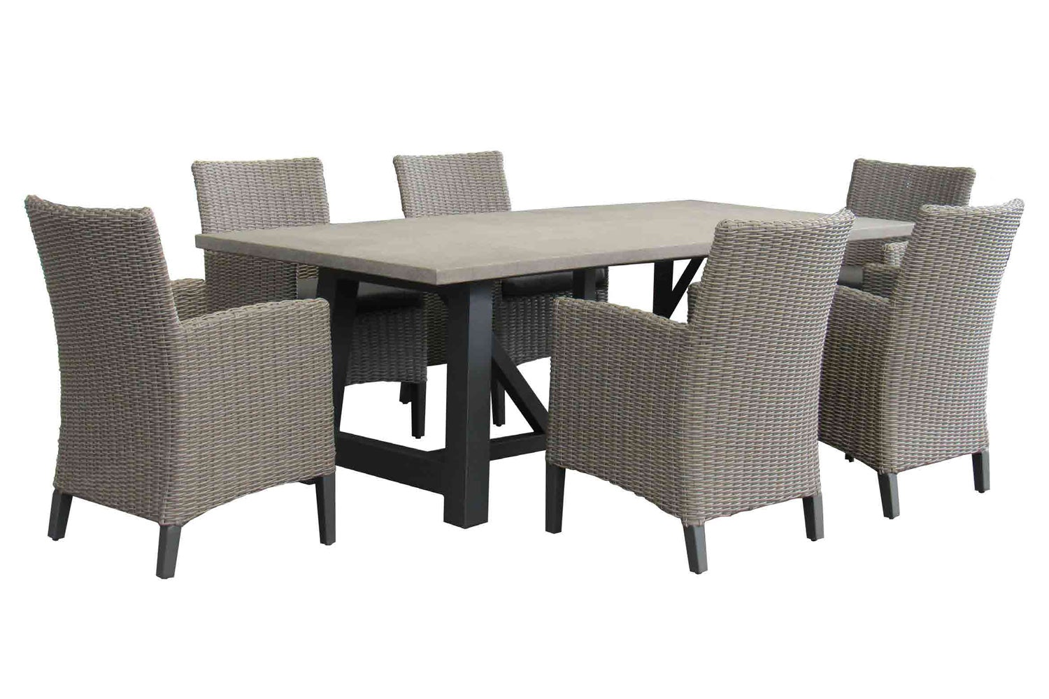 Tenerife 7 Piece Outdoor Dining Setting ... Part 76