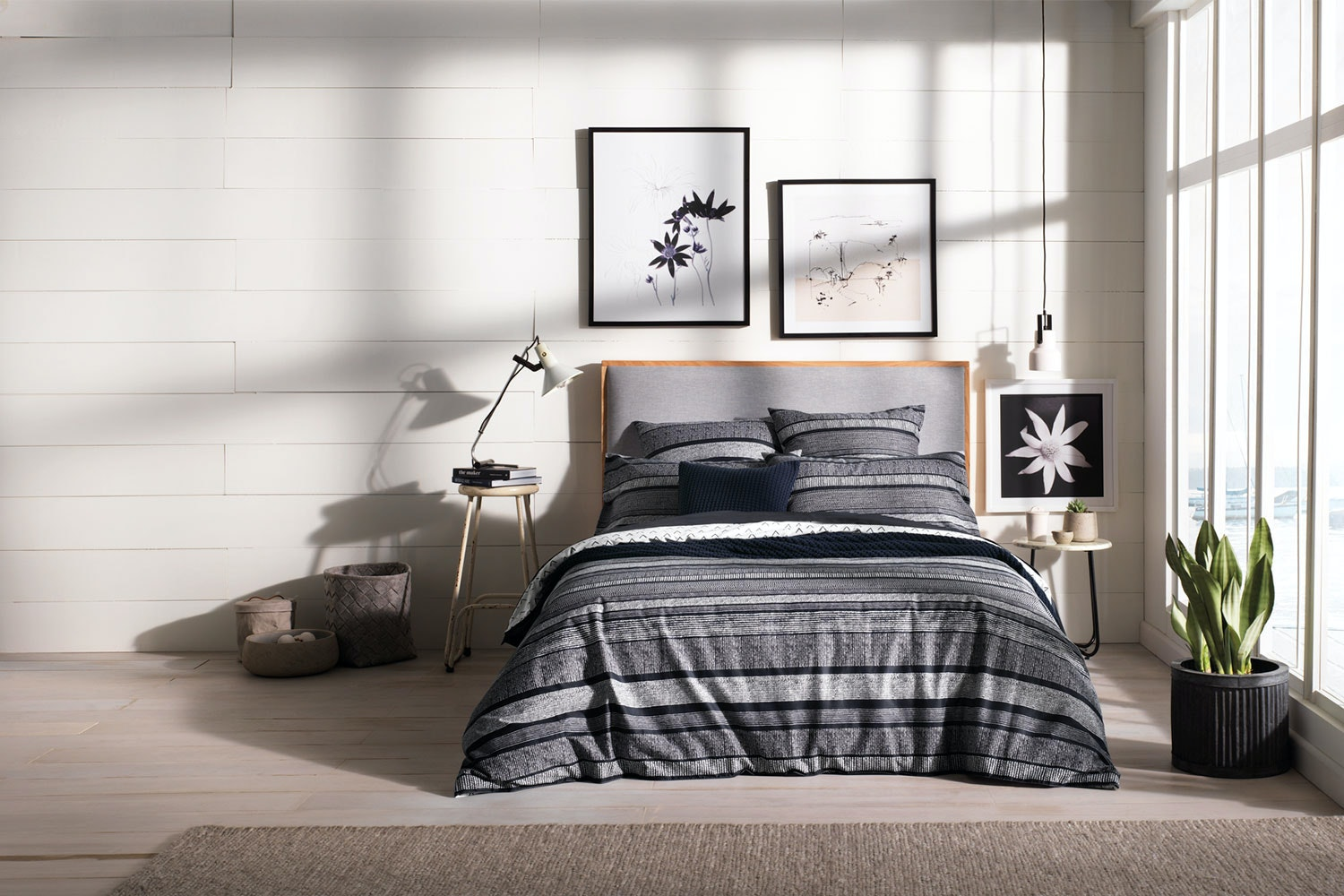 Derry Midnight Duvet Cover Set By Sheridan