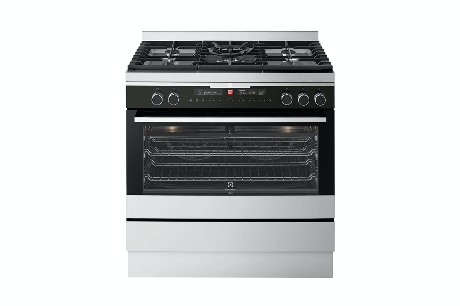 electrolux 90cm gas cooktop. electrolux 90cm pyrolytic oven with gas cooktop a