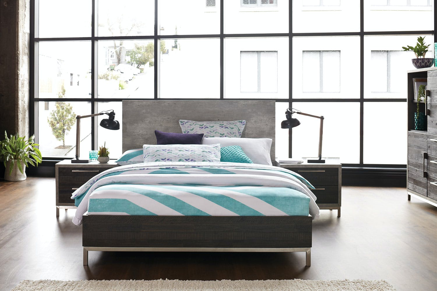 Faro Queen Bed Frame by Morgan Furniture | Harvey Norman New Zealand