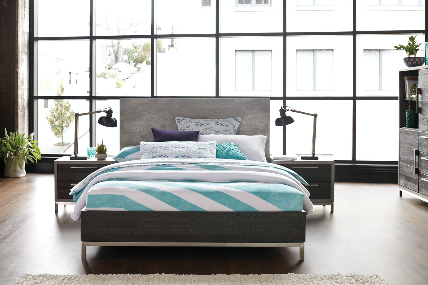 Faro King Bed Frame by Morgan Furniture