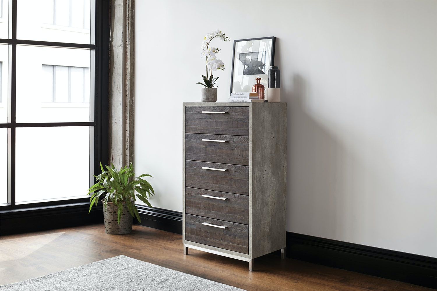Faro 5 Drawer Tallboy by Morgan Furniture