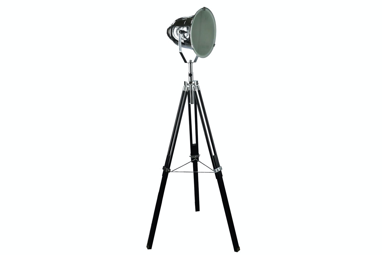 Adjustable Chrome Stage Spotlight Floor Lamp by Nero Furniture