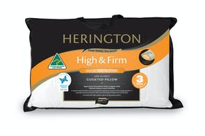 High and Firm Gusseted Pillow by Herington