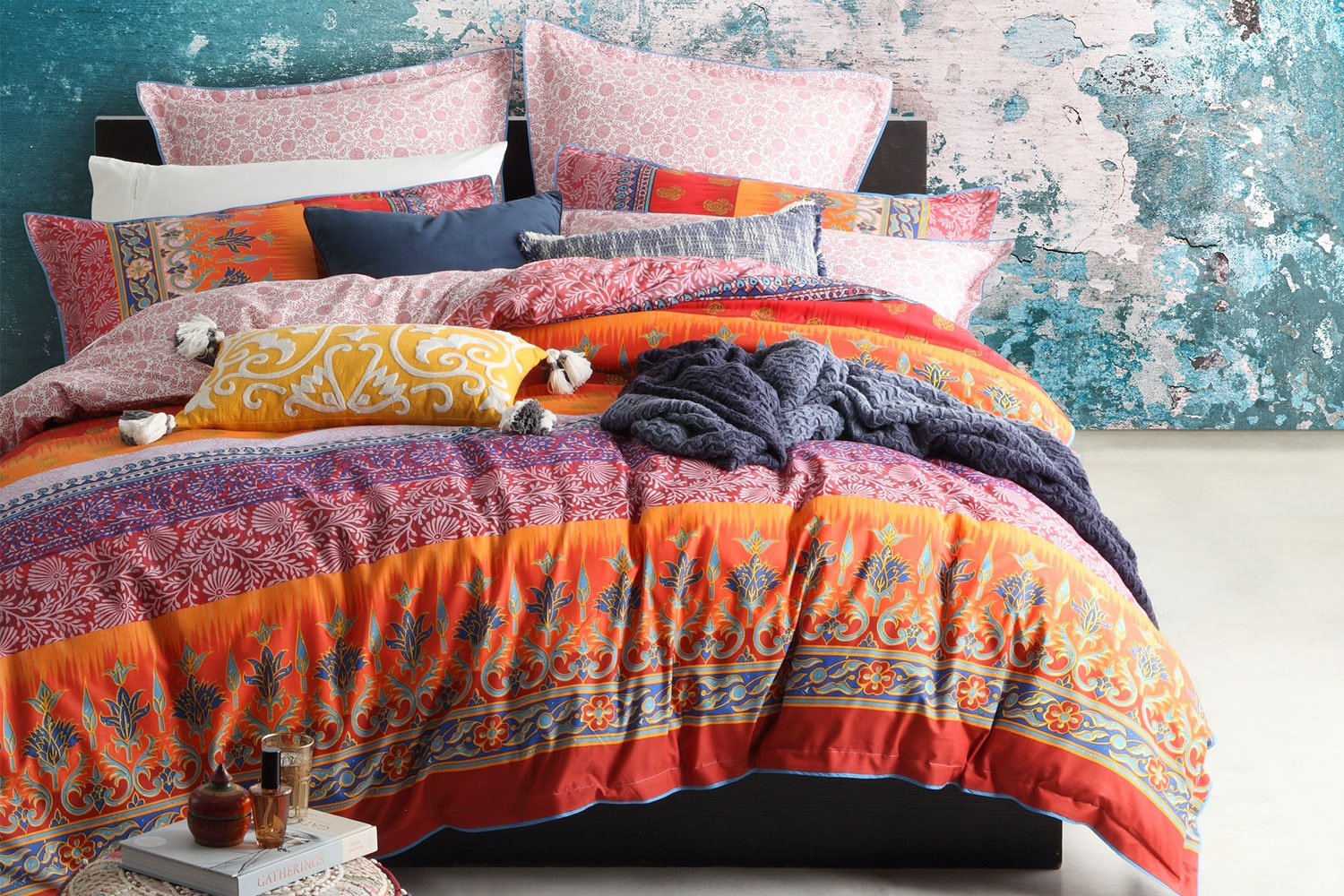 India Spice Duvet Cover Set by Logan and Mason