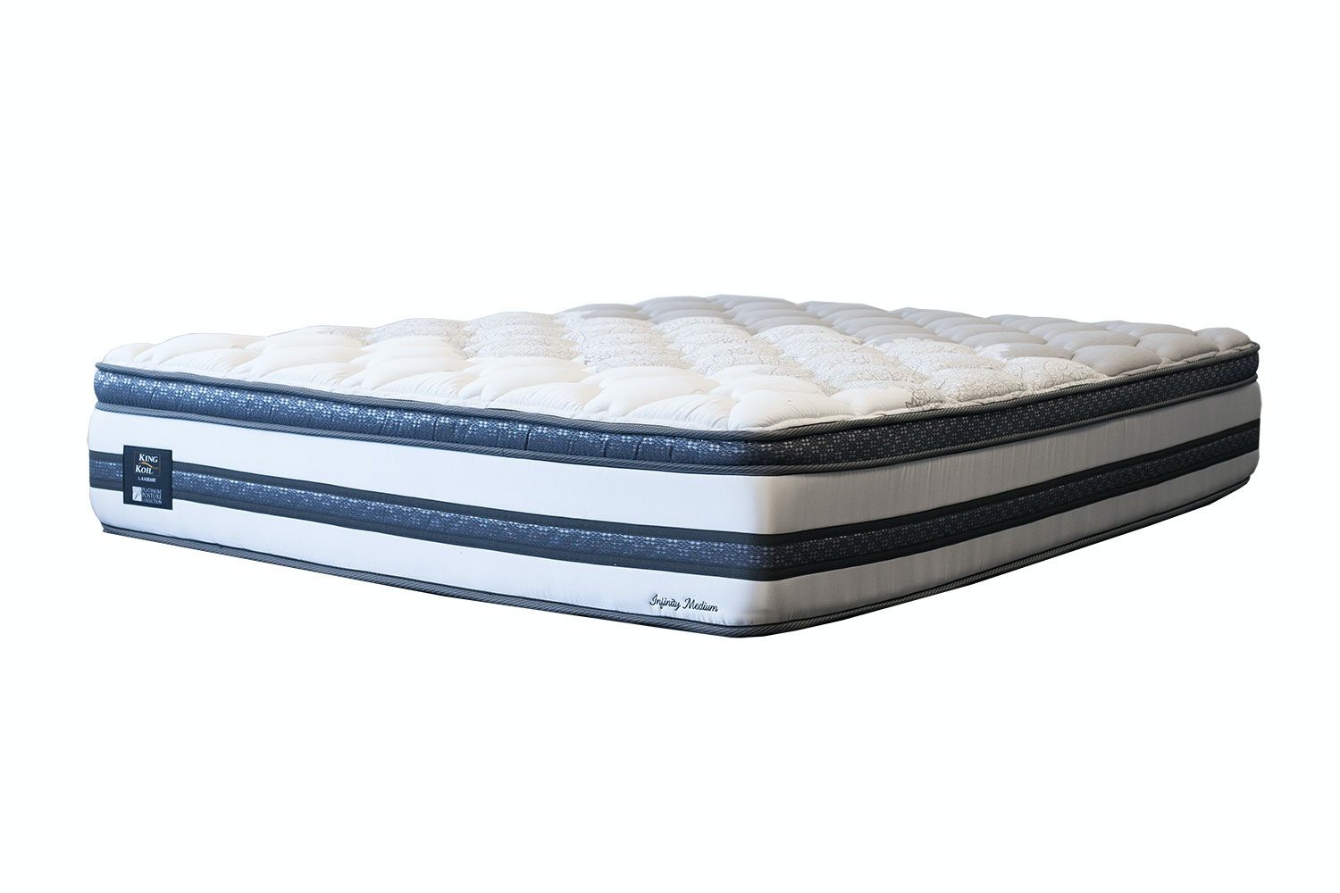 Infinity Medium Super King Mattress by King Koil