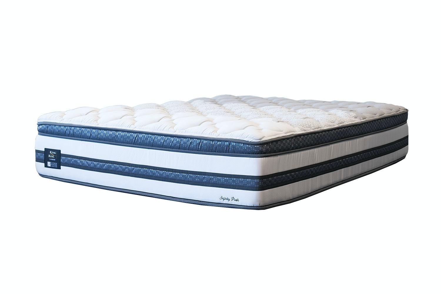 Infinity Plush Long Single Mattress by King Koil