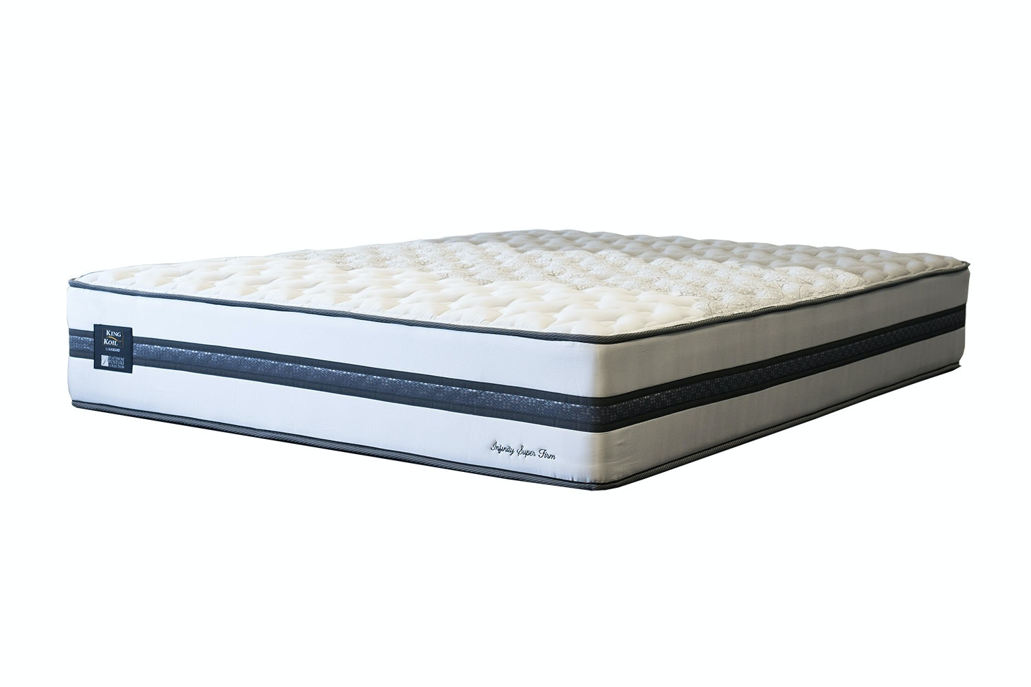 Infinity Super Firm Long Single Mattress by King Koil