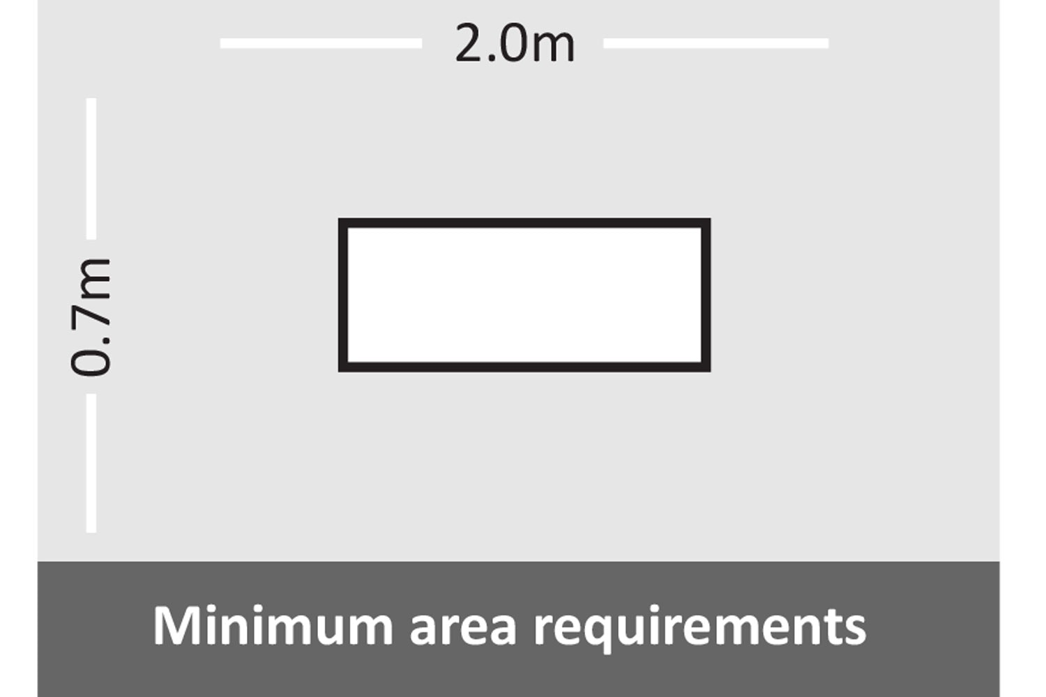 Bentley Jack and Jill Outdoor Setting Minimum Area Requirements