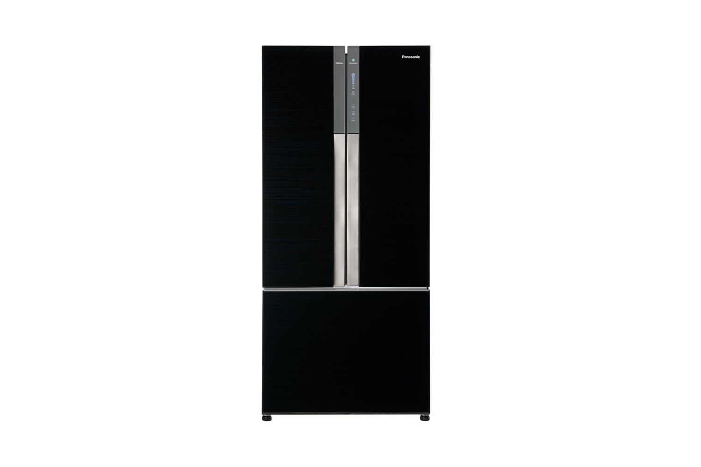 Panasonic 547l French Door Fridge Freezer Black Glass