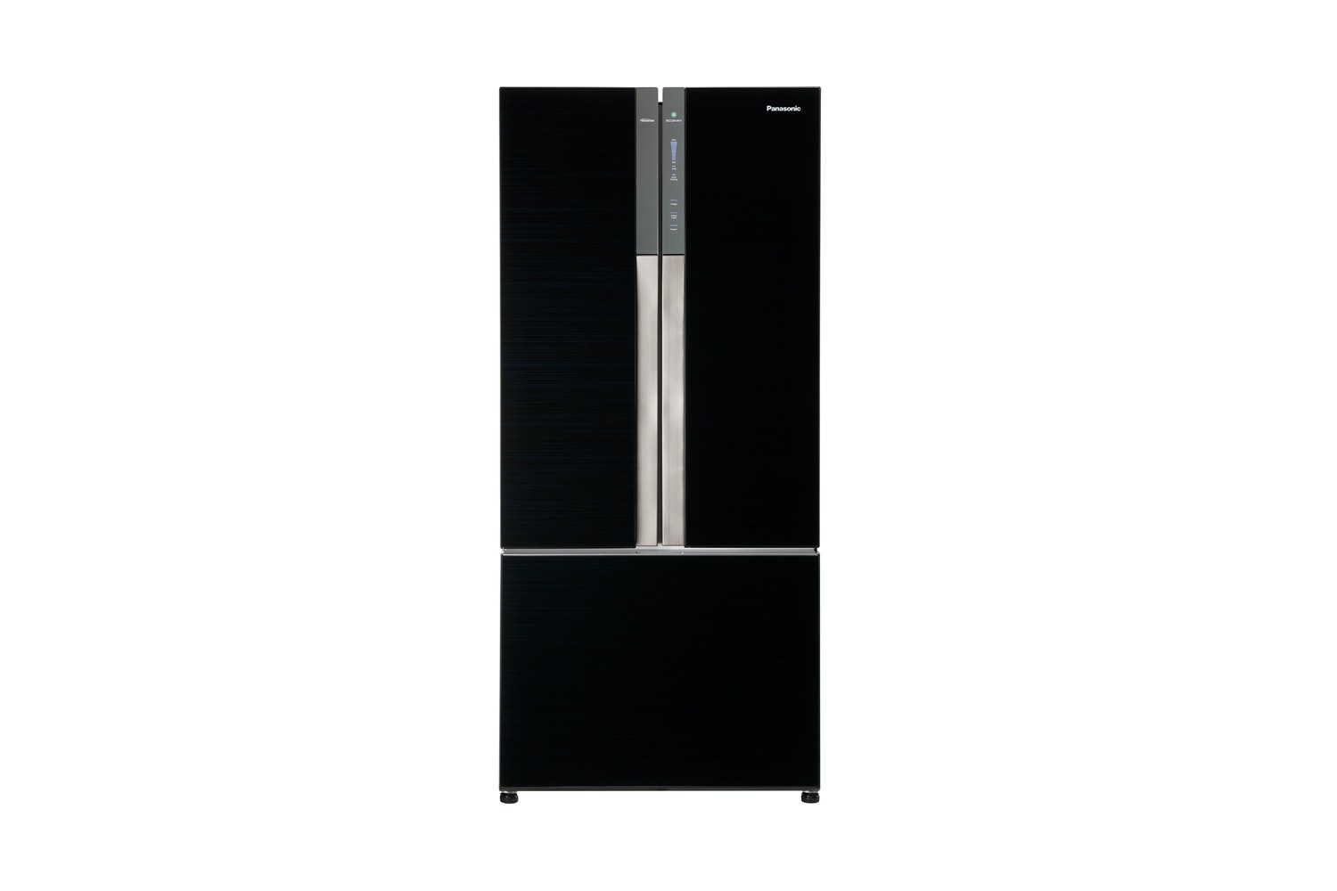 Marvelous Panasonic French Door Fridge Part - 12: Panasonic 547L French Door Fridge Freezer - Black Glass Finish | Harvey  Norman New Zealand