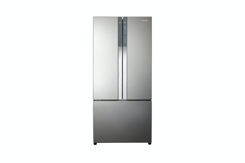 Panasonic 547L French Door Fridge Freezer - Silver Glass Finish