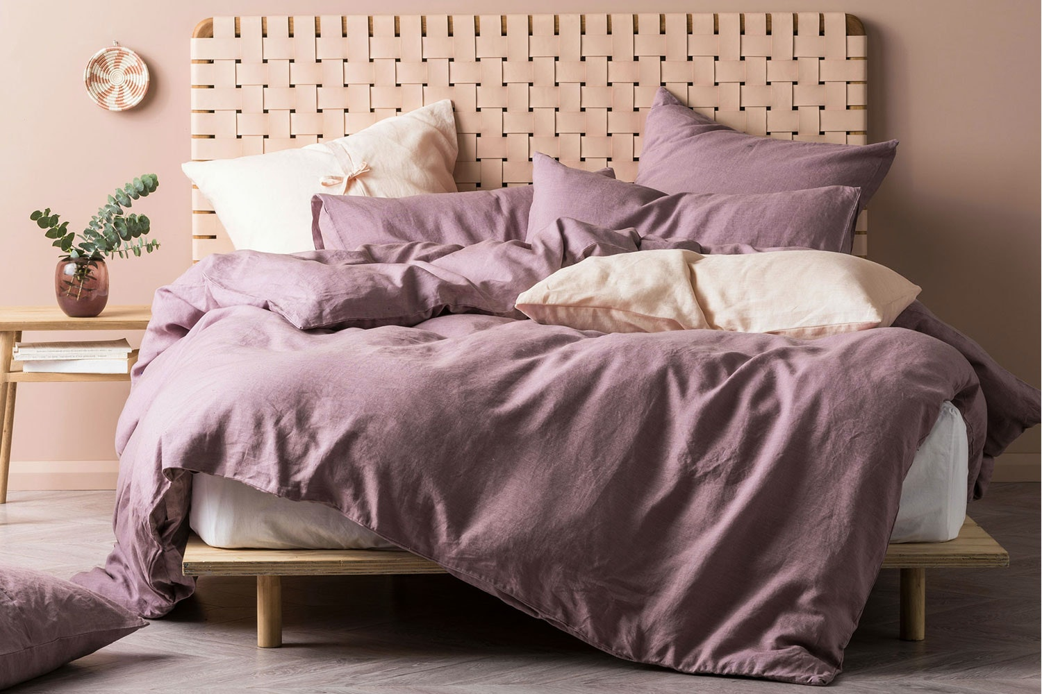 Nimes Elderberry Duvet Cover Set by Savona