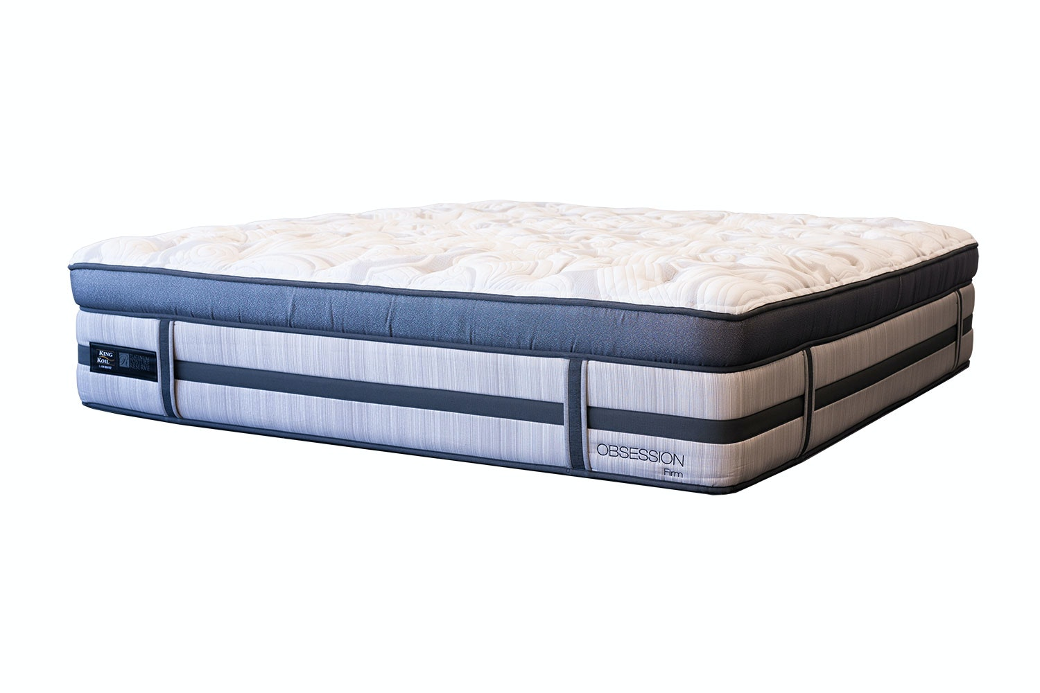 Obsession Firm Californian King Mattress by King Koil