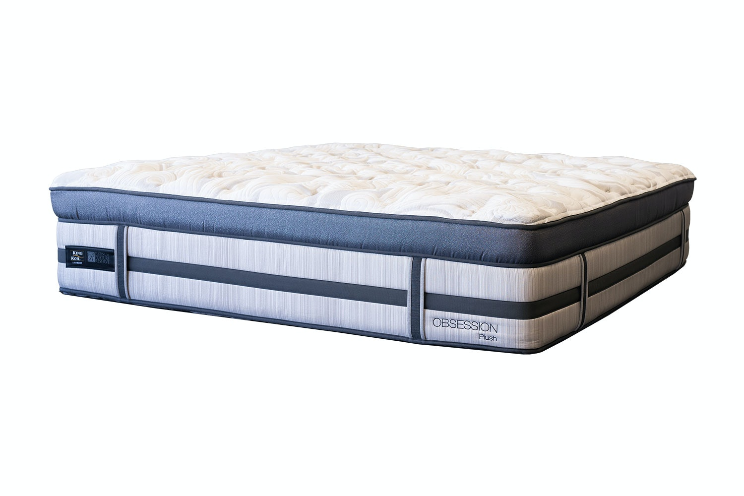 Obsession Plush Long Single Mattress by King Koil