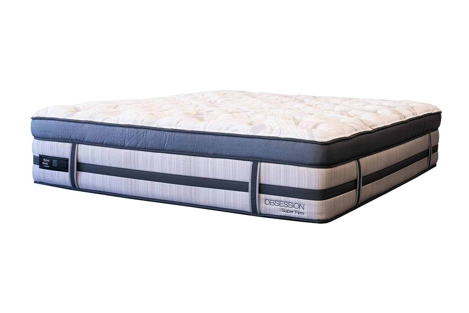 Obsession Super Firm Long Single Mattress by King Koil