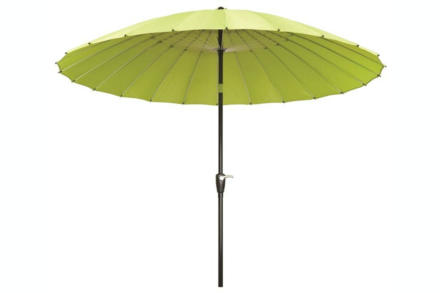 Oriental 2.7m Lime Outdoor Umbrella by Peros