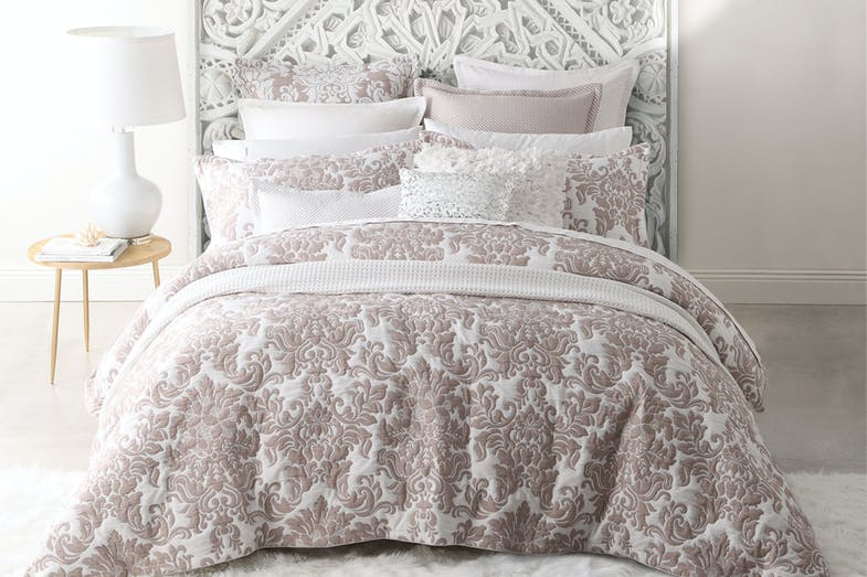 Riviera Stone Duvet Cover Set by Ultima Collection