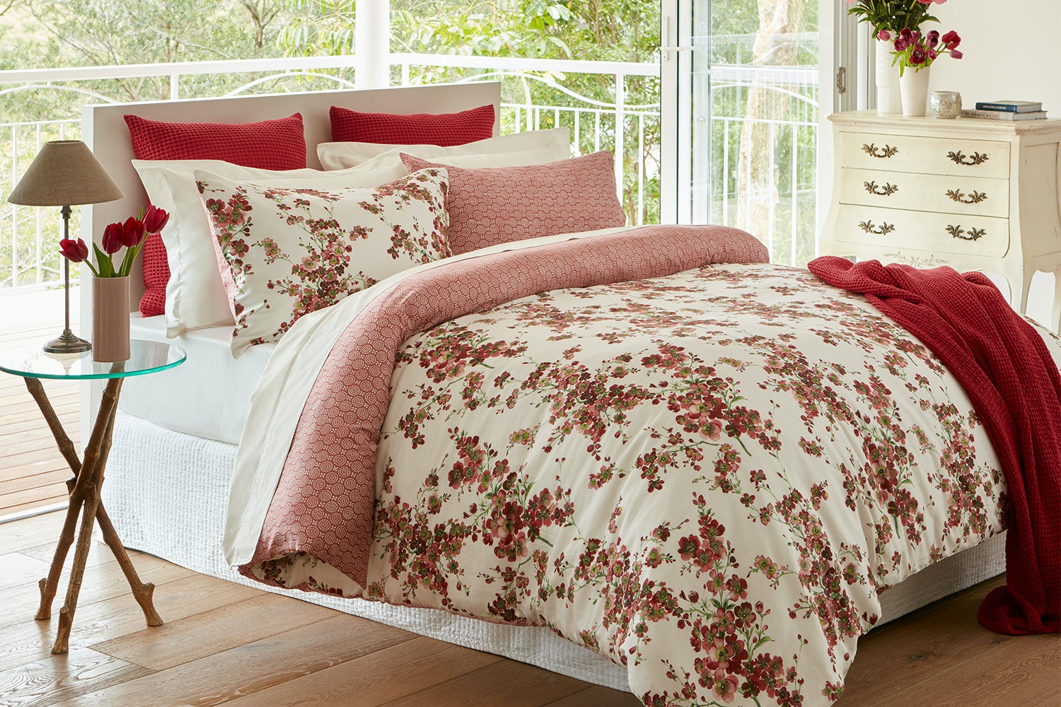 Sakura Duvet Cover Set by Baksana