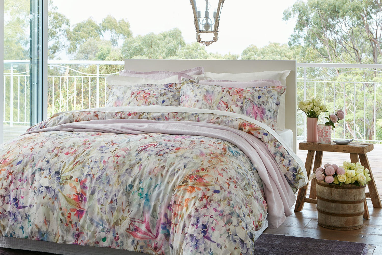 Spring Bloom Duvet Cover Set by Baksana