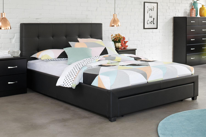 Stockholm King Storage Bed Frame by Nero Furniture