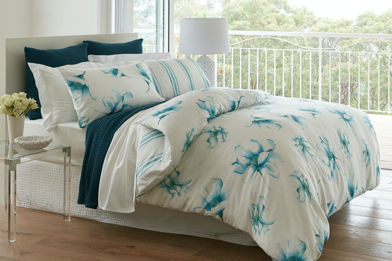 Waterlily Duvet Cover Set by Baksana
