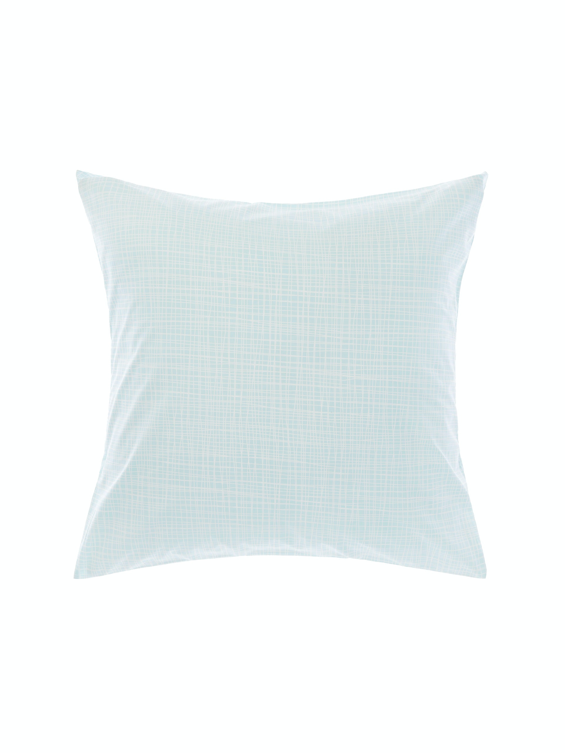 Meiko Mint European Pillowcase by Linen House Nu Edition