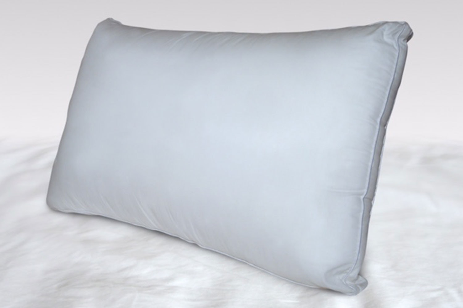 Low and Firm Gusseted Pillow by Herington