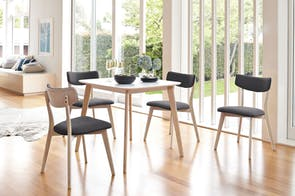 Clare Square Dining Table by Nero Furniture