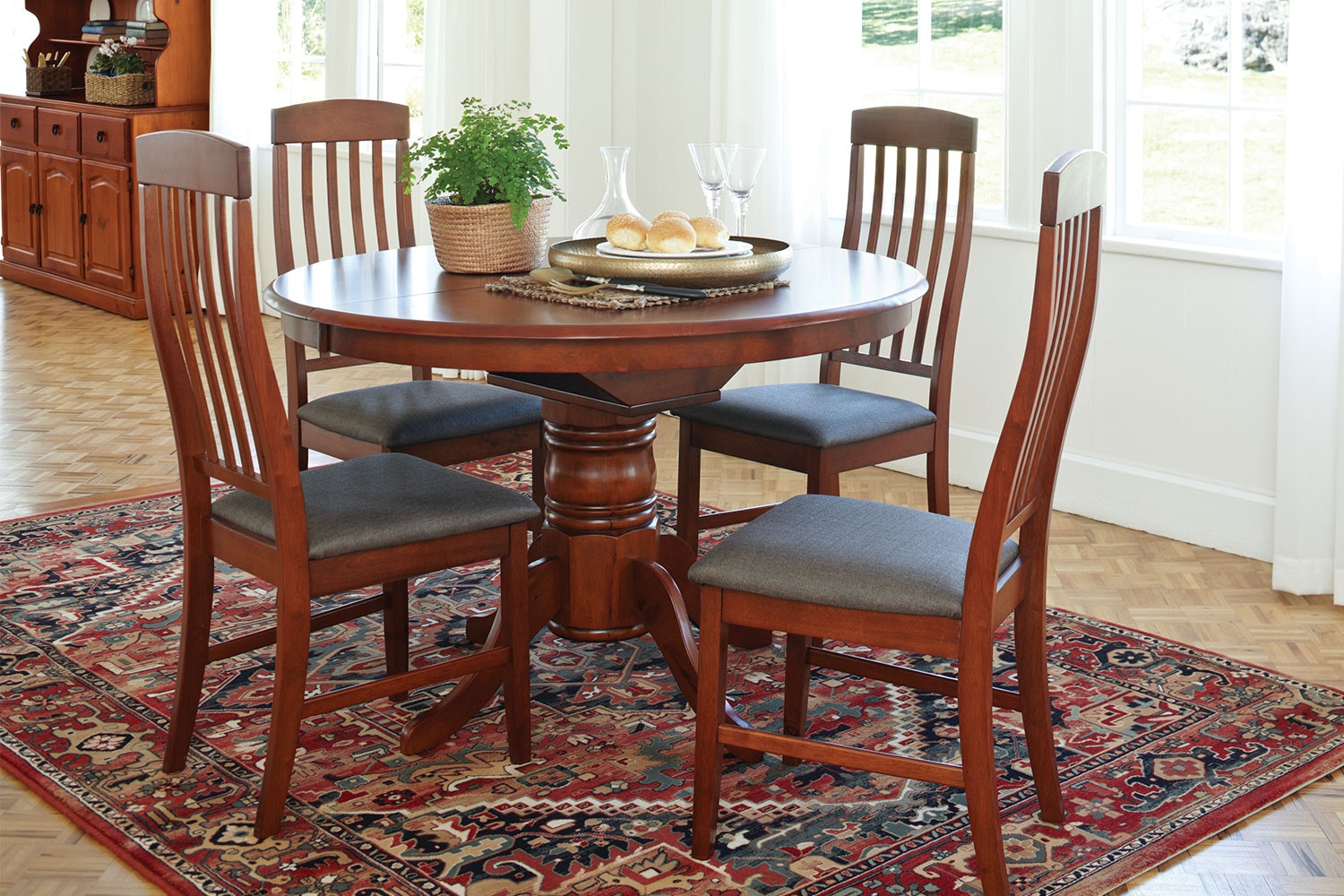 1200 Caprice Extension Dining Table by Nero Furniture