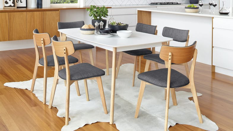 Clare Rectangle Dining Table by Nero Furniture