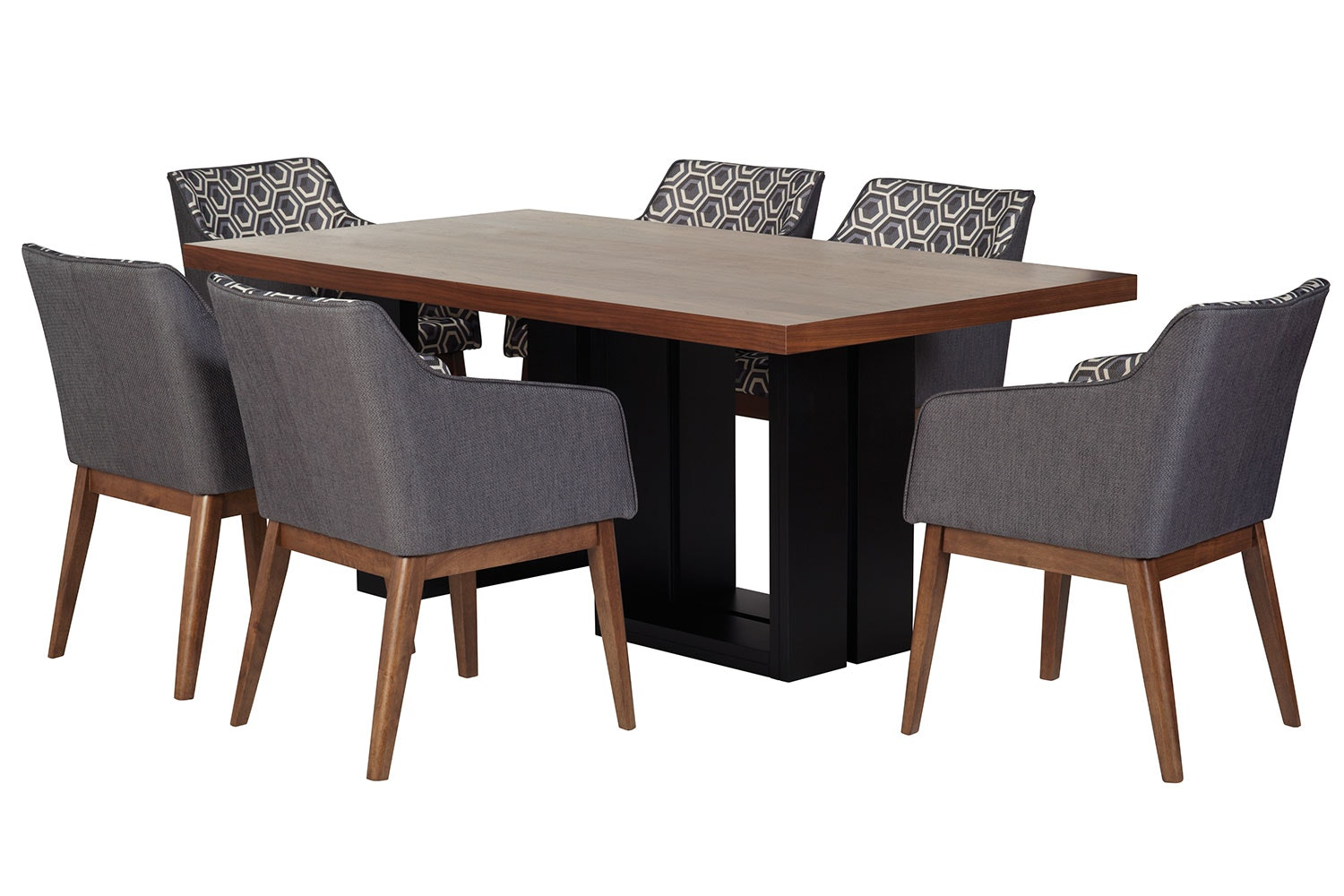 Grafton 7 Piece Dining Set by Nero Furniture