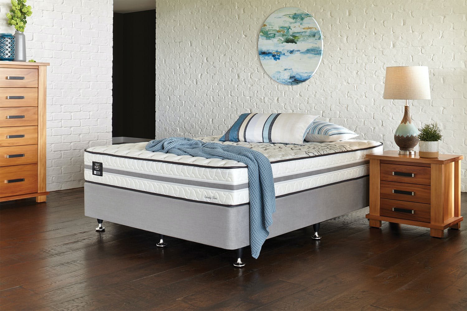Eternity Firm King Bed By King Koil Harvey Norman New
