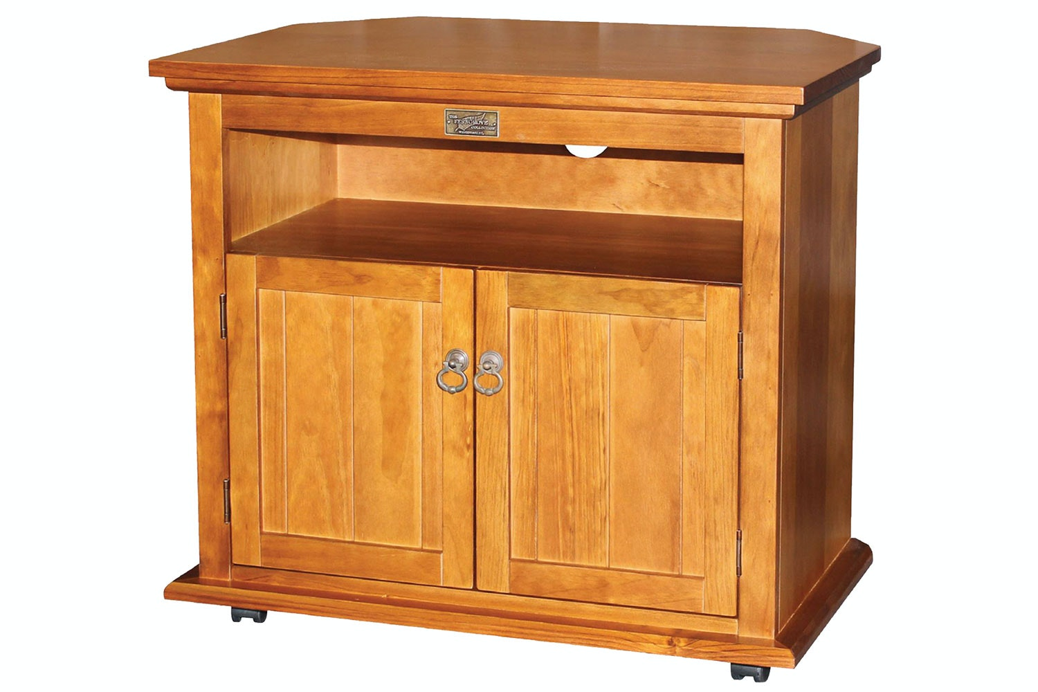 Ferngrove 2 Door Corner TV Trolley by Coastwood Furniture