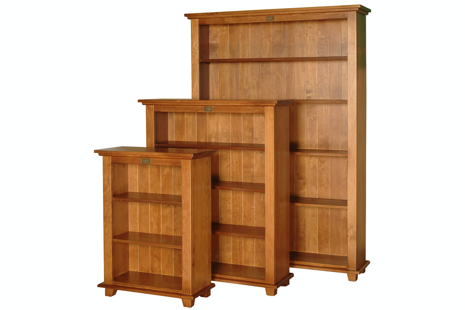 Ferngrove Bookcase 1800x1200 by Coastwood Furniture