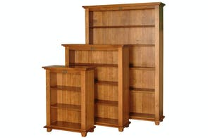 Ferngrove Bookcase 2100x1200 by Coastwood Furniture