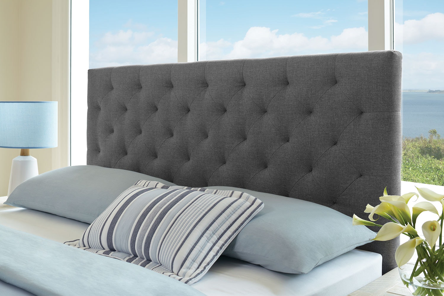 Diaz Queen Headboard by Nero Furniture