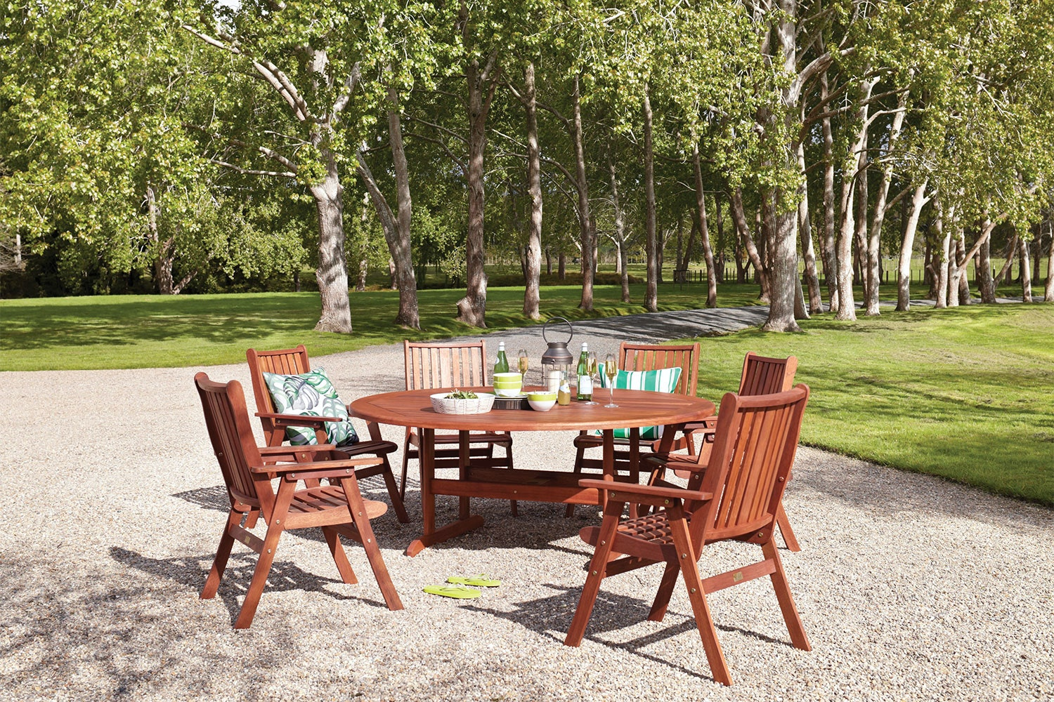 Wilson 7 Piece Outdoor Dining Setting