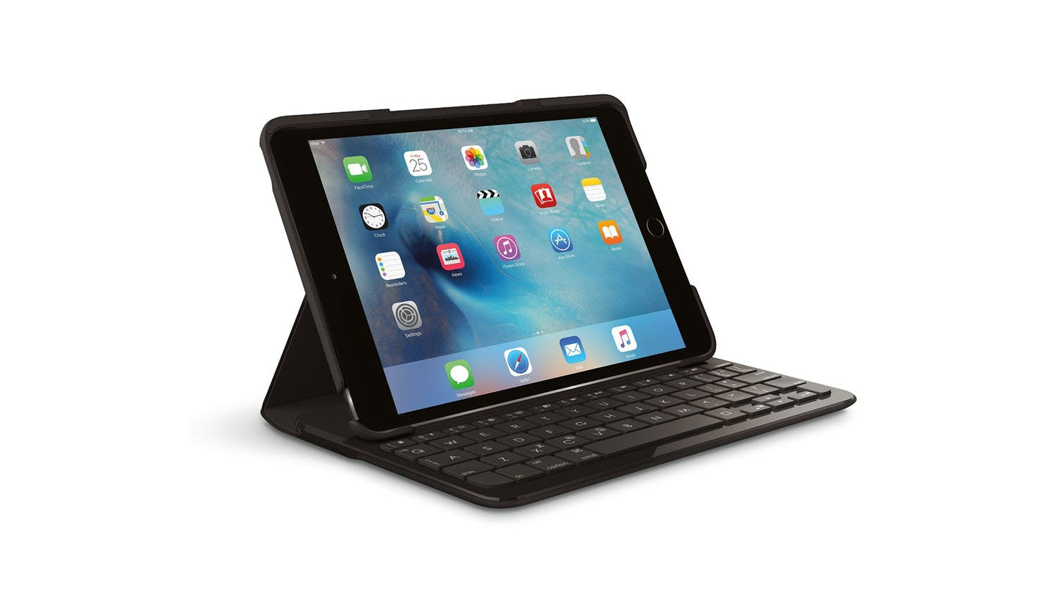 Logitech Focus Case With Bluetooth Keyboard For IPad Mini