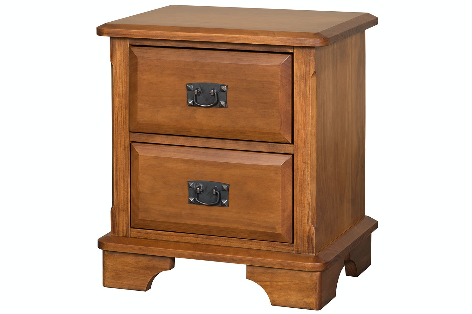 Maison 2 Drawer Bedside Table by Coastwood Furniture