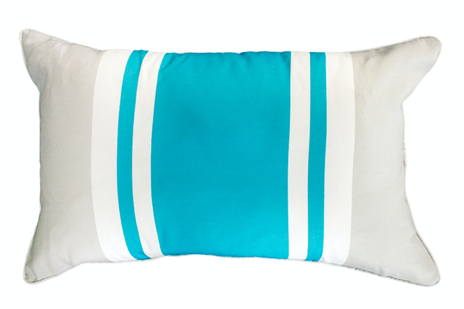 Drift Stripe Rectangle Cushion by Mulberi