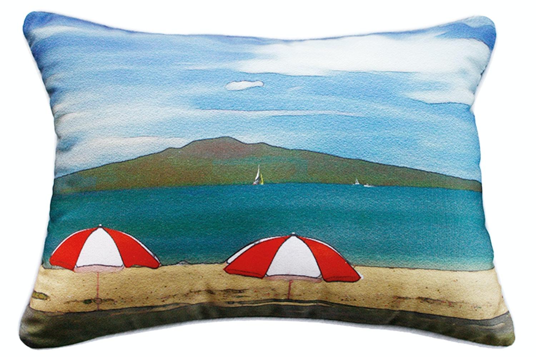 Cheltenham Beach Rectangle Cushion by Mulberi