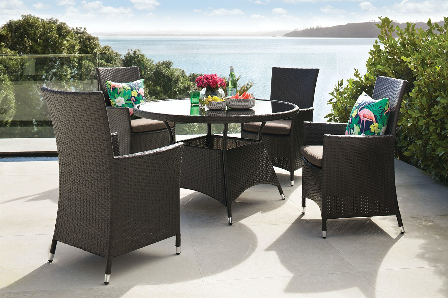 Miami 5 Piece Outdoor Dining Setting
