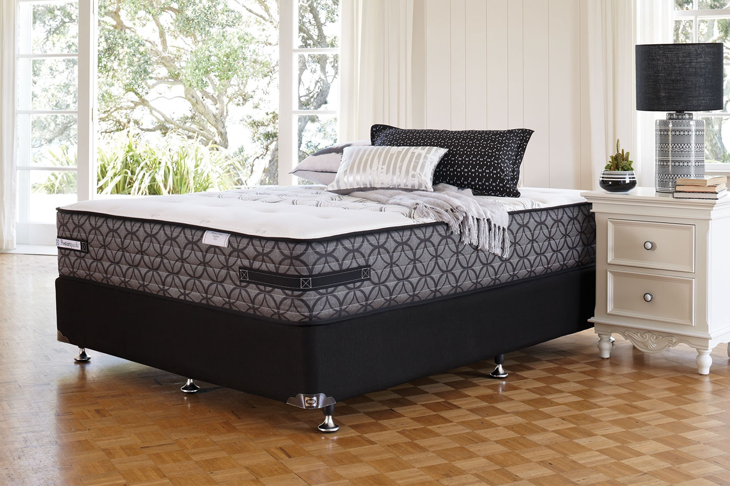 Brighton Firm King Bed by Sealy Posturepedic
