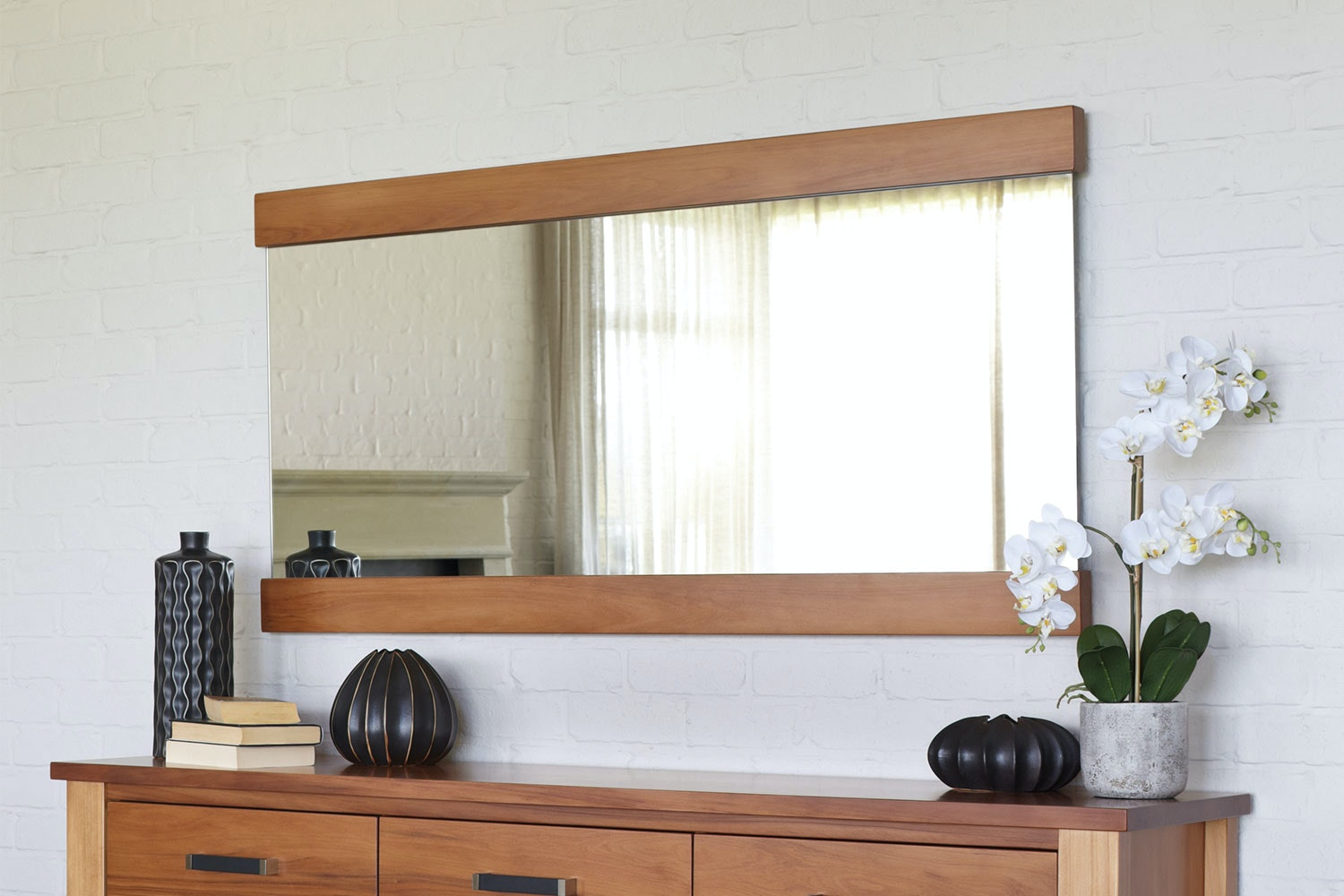 Huntsman Long Wall Mirror by Ezirest Furniture