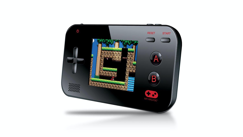 My arcade gamer v portable handheld console harvey for Gamer v portable