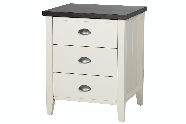 La Resta 3 Drawer Bedside by Coastwood Furniture