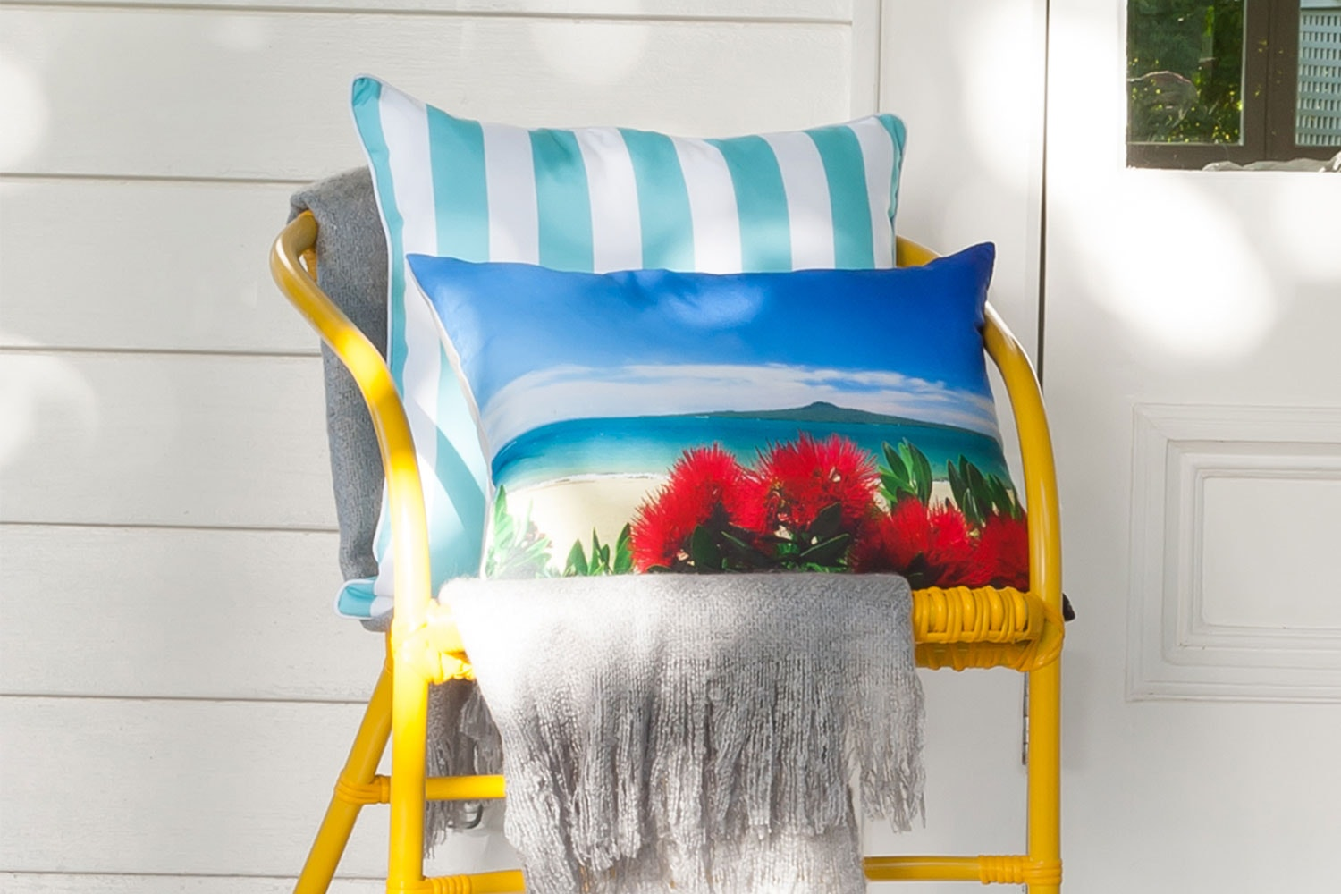 Rangitoto Rectangle Cushion by Limon